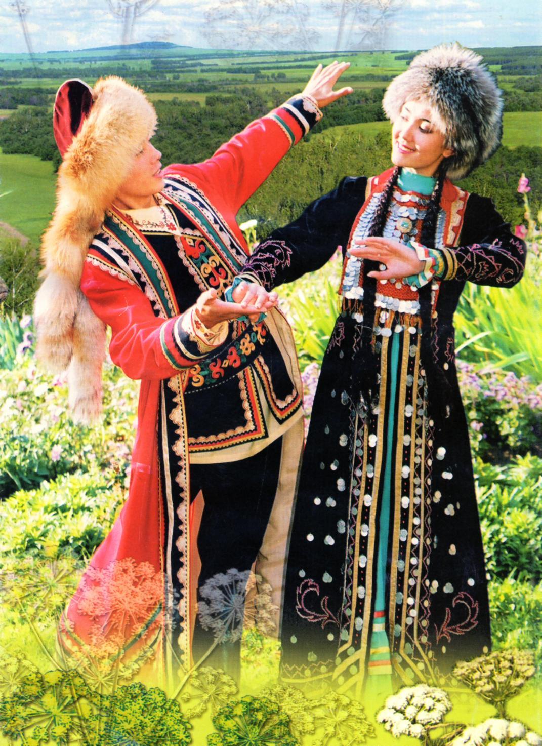 Башкирский костюм сделать своими руками