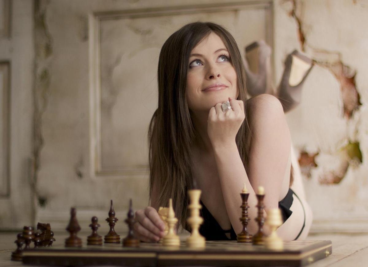 Фото девушек шахматисток