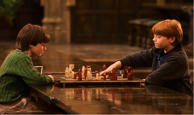 Learn to play chess children