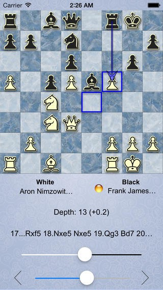 SmallFish Chess for Stockfish - Updated with iOS 7 - Chess
