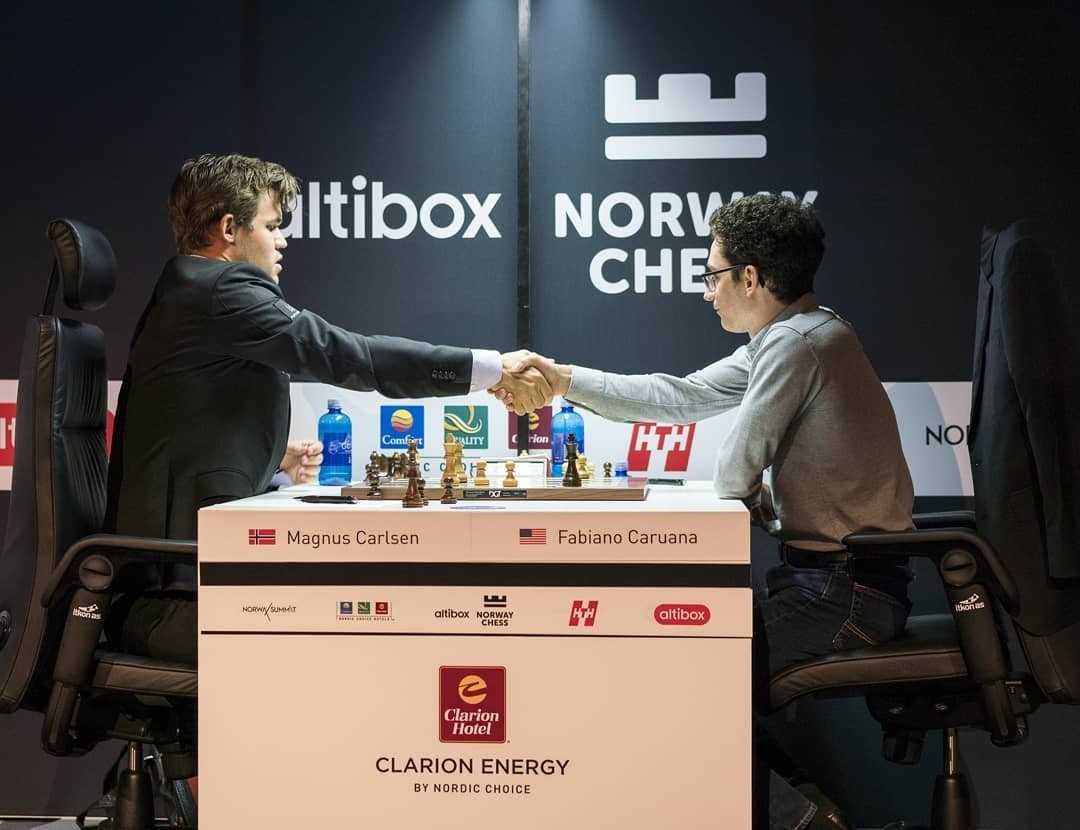 Image result for carlsen vs caruana images