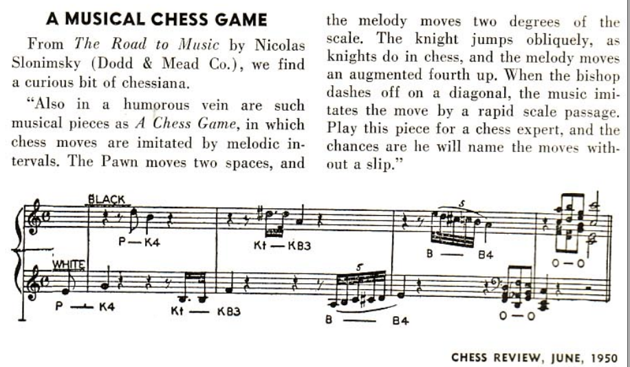 Musical Chess - Chess Forums - Chess com