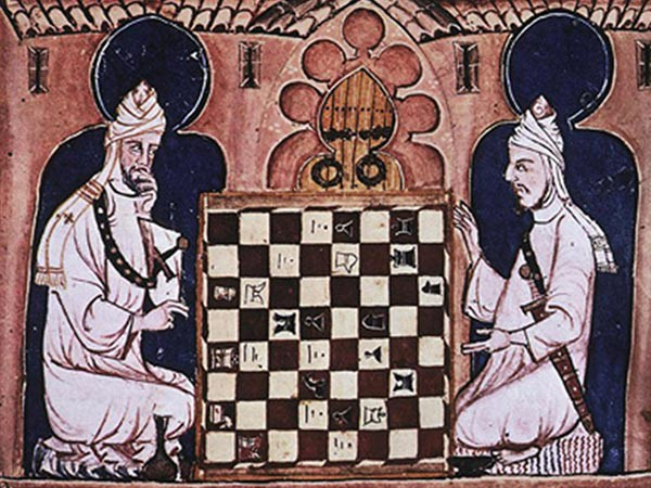 Image result for people playing chess in arab