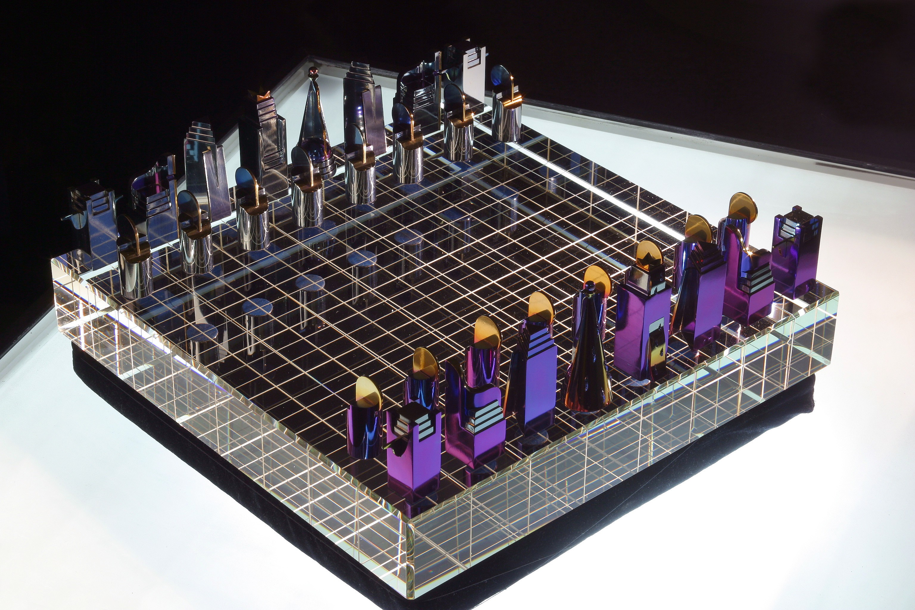 The Unique Chess Set The Sistem Xx Somebody Heard About