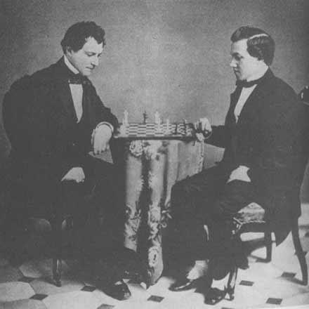 Paul Morphy and Lewis Elkin