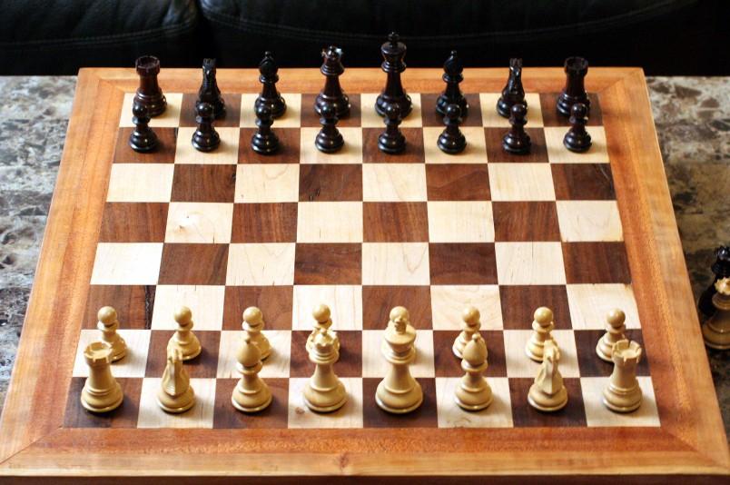 Homemade chess board - Chess nice image ...