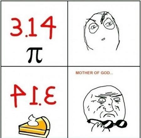 Un chiste sobre Pi