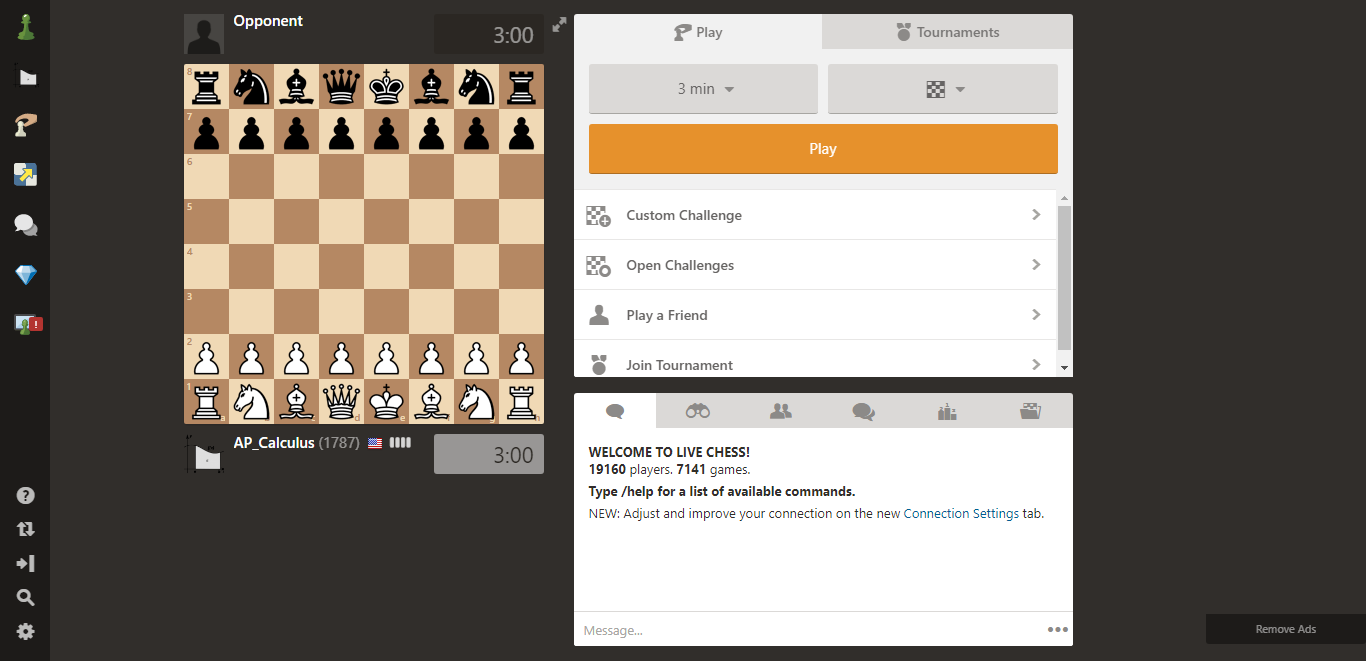My Board Got Really Small? - Chess Forums - Chess com