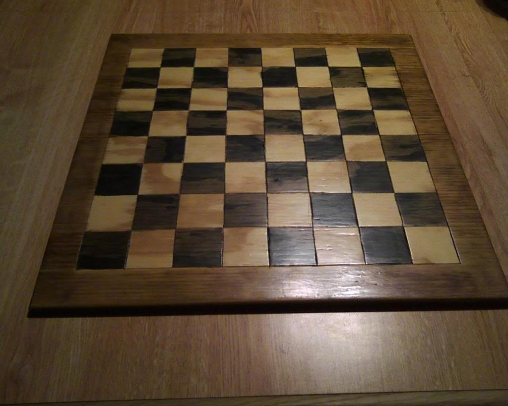 Homemade Chess Board