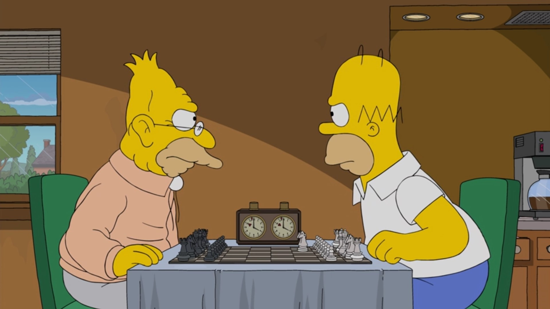 Image result for homer simpson playing chess