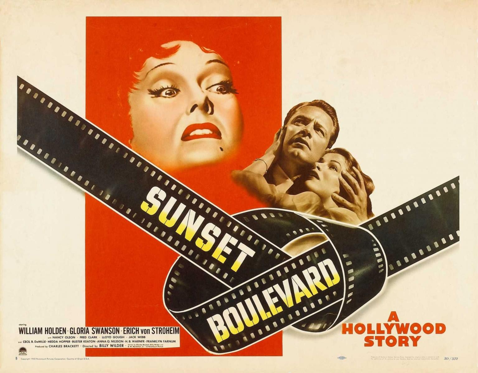 sunset boulevard essay Sunset boulevard is one of the films that consider as film noir this story set in 50s hollywood and the film industry during that time is more advances.