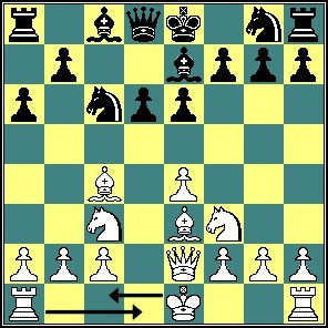 Chess Rule: Queen side Castling - Before