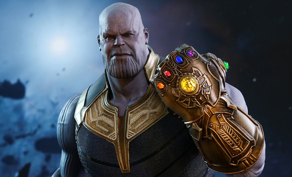 Image result for thanos with all 6 stones