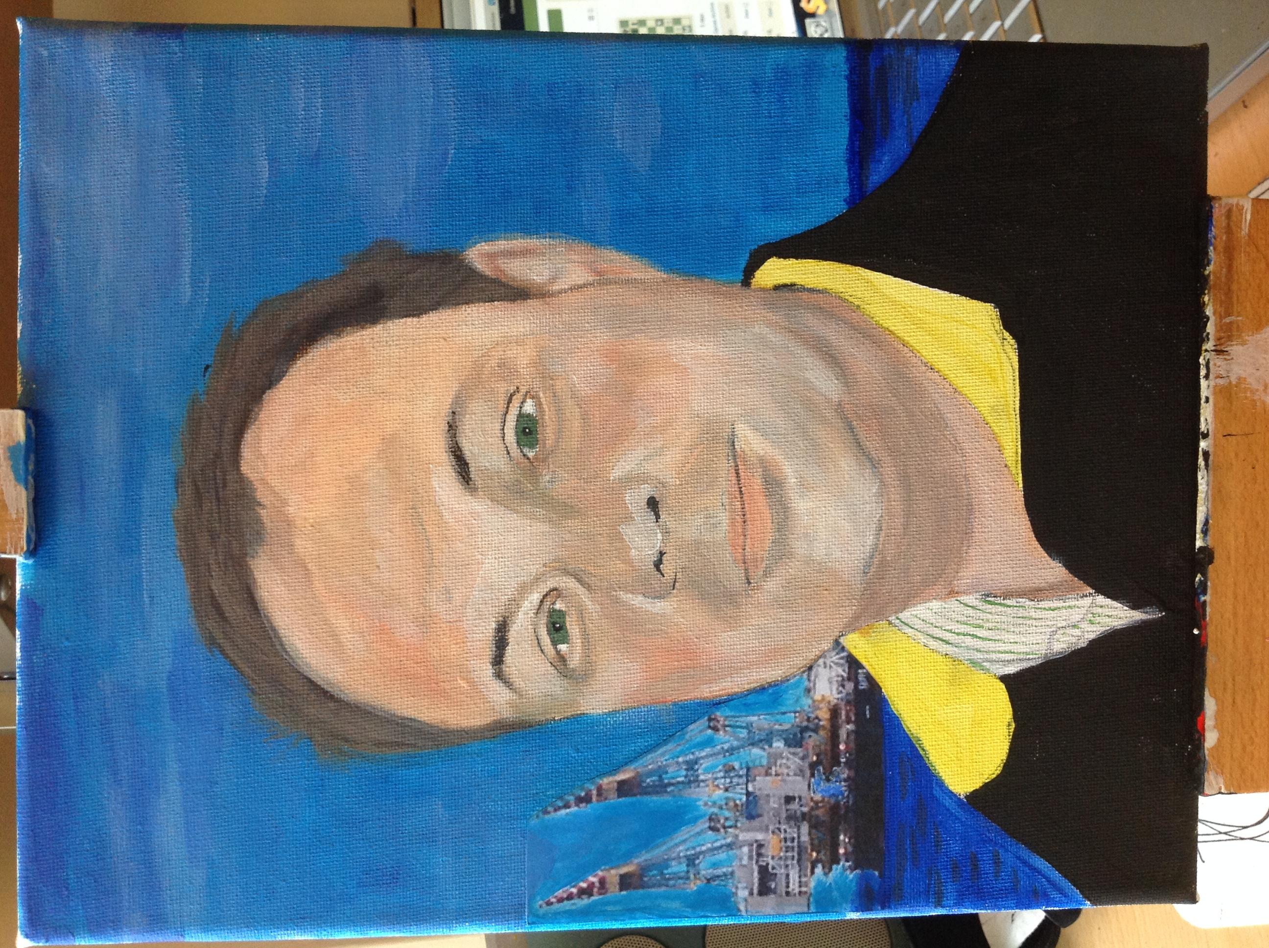 A portrait of Joop.