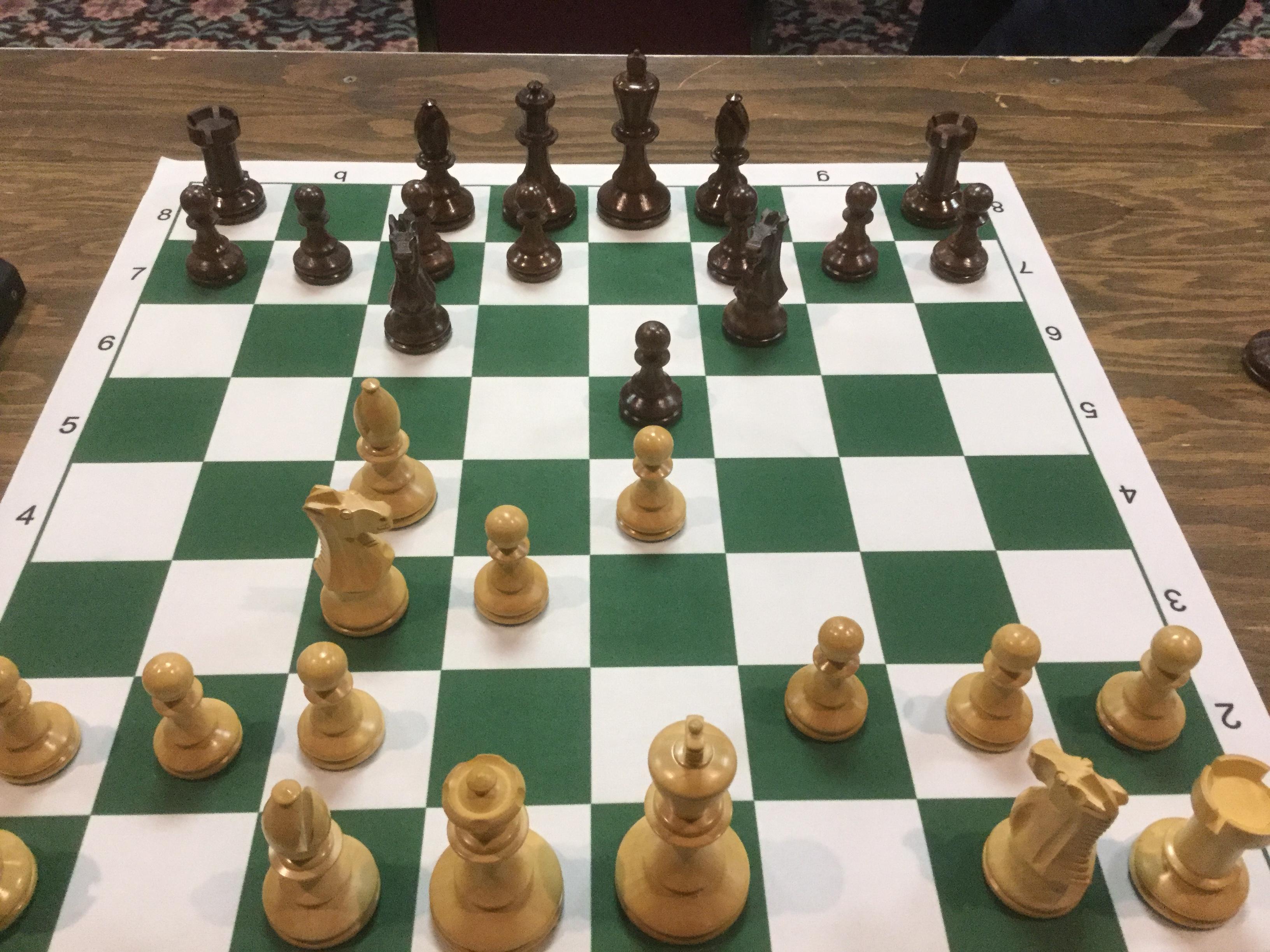 G Butterman Chess Board