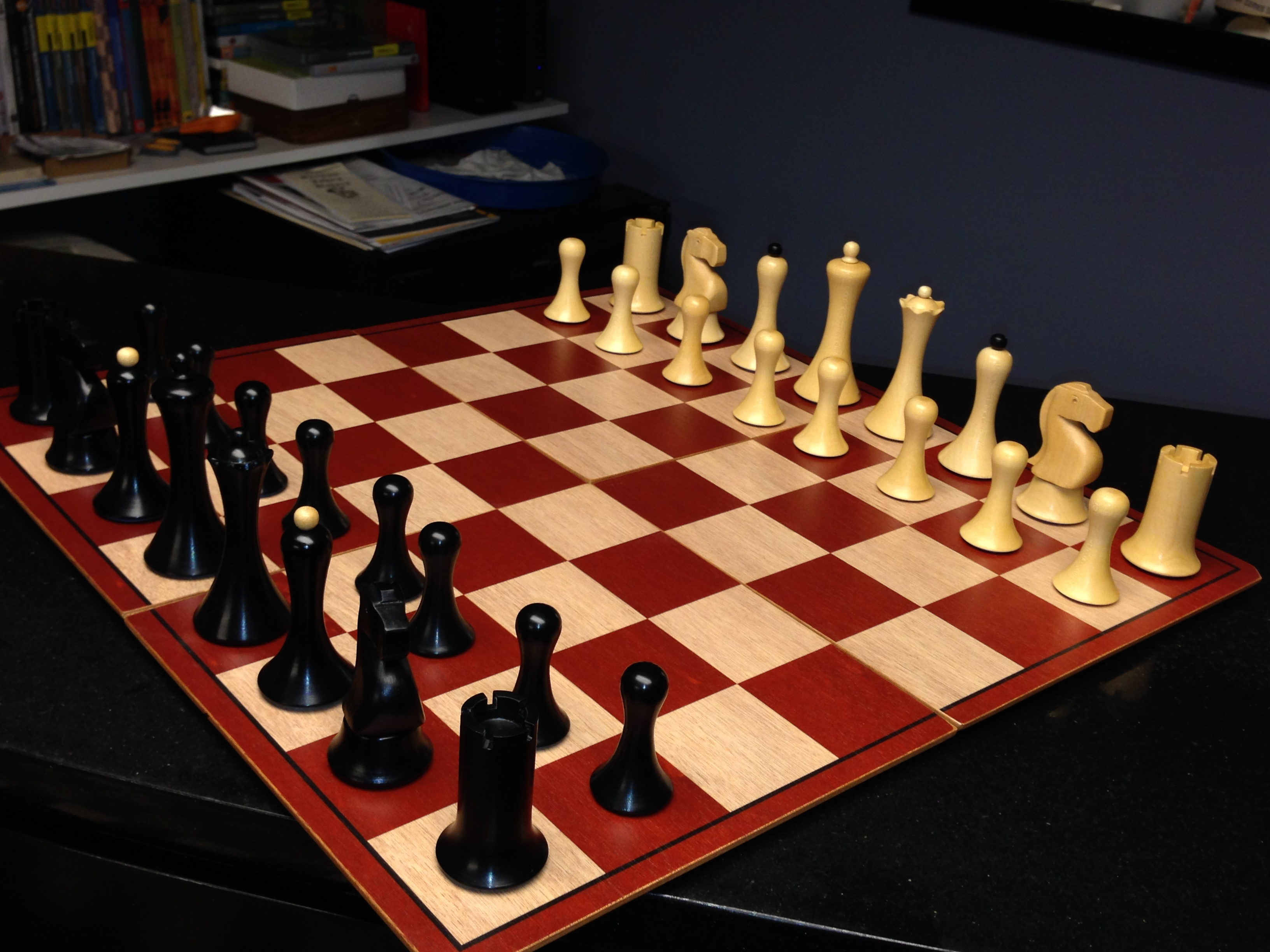 Comparing Best Chessmen Ever Stage I Sets