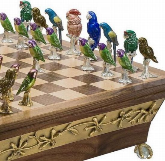 The 10 Weirdest Chess Sets