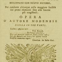 The Anonymous Modenese