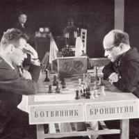 Botvinnik-Bronstein World Champion Opening Shell Game