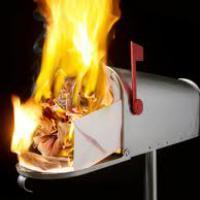 Fire in the Mailbox
