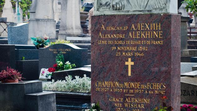 Memorializing Alekhine in Style