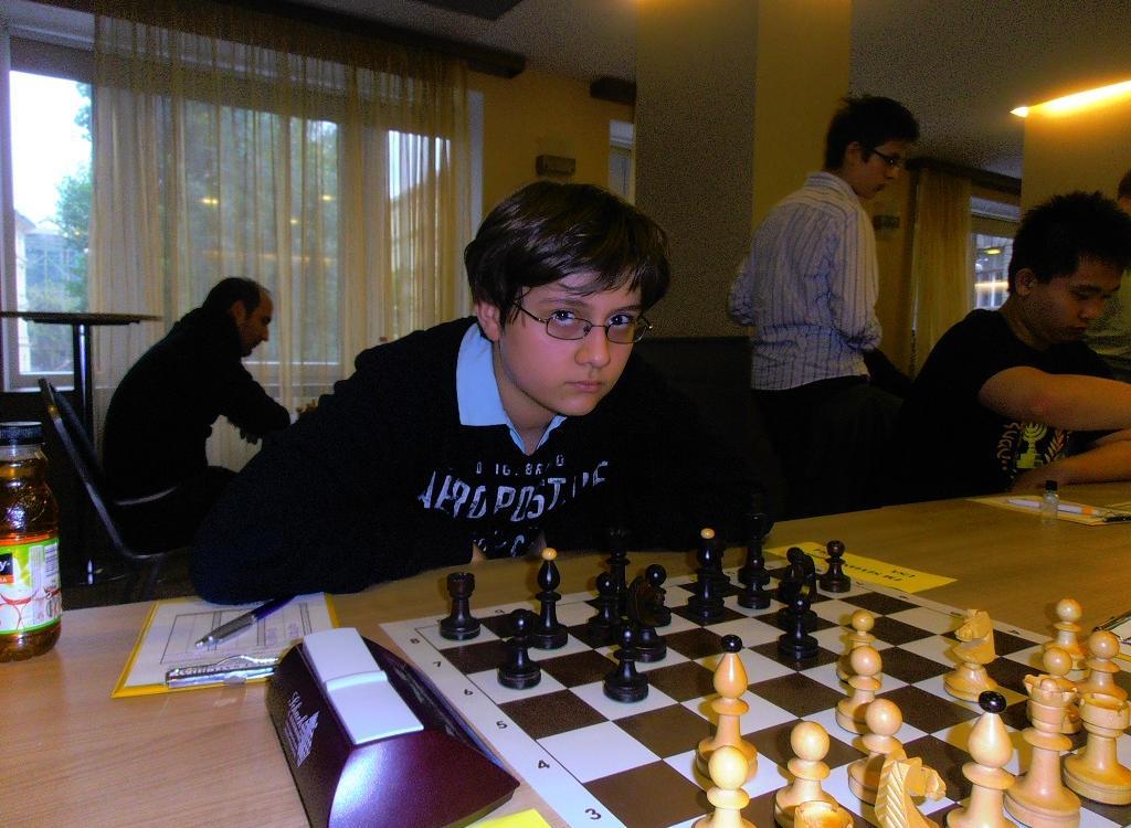 Sam Sevian's IM norm in Budapest