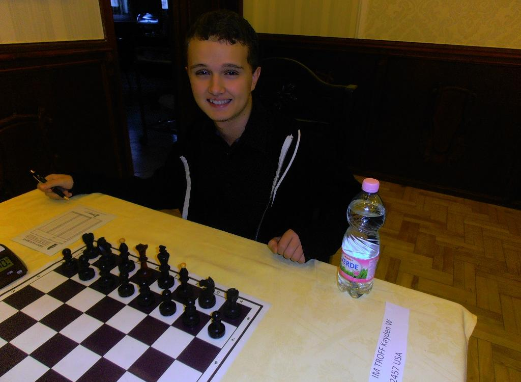 IM Troff and IM Sevian plays in Budapest in a GM tournament