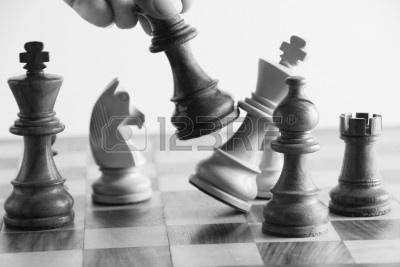 The number one reason players lose chess games is...