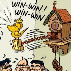 Swiss Win-Win Clock