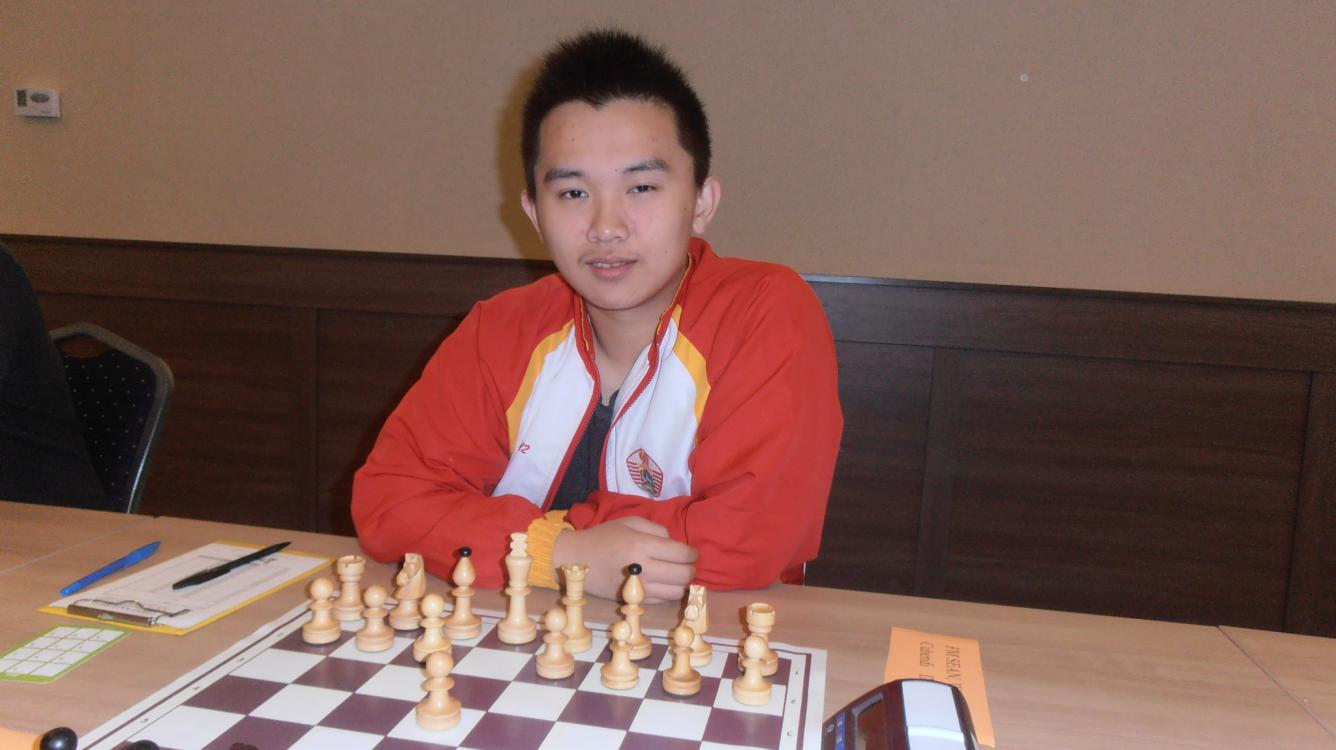 Indonesian player FM Sean Winshand Cuhendi won the April First Saturday GM event in Budapest