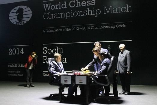 Carlsen-Anand