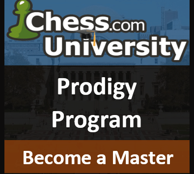 Chess.com University's Prodigy Program - Final Details and Announcements