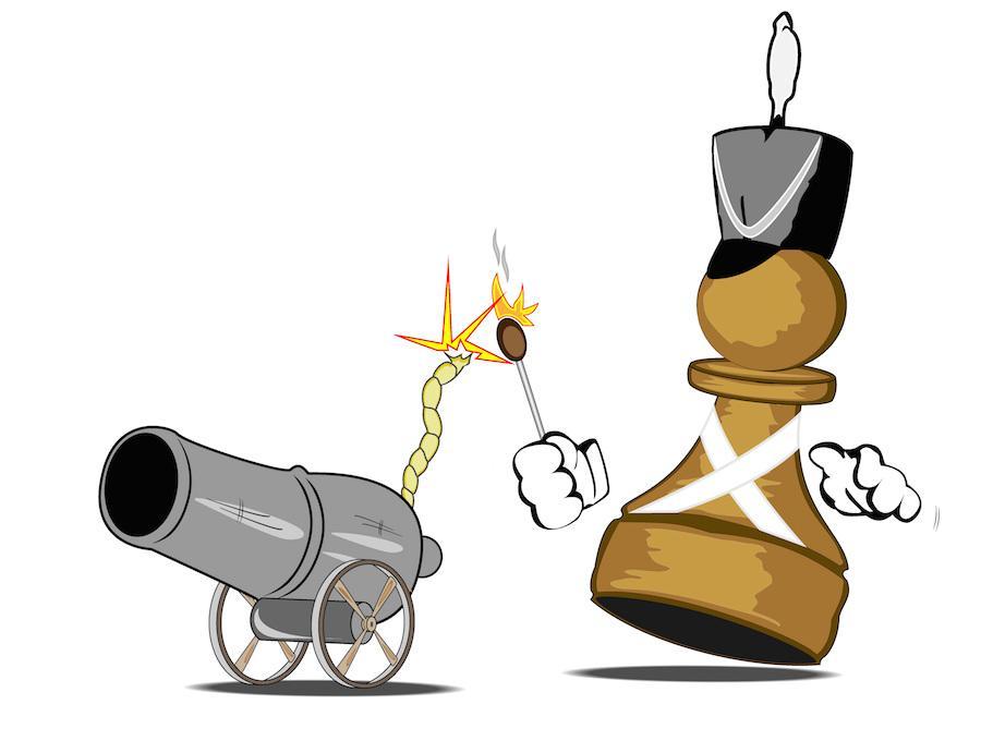 Beware Of Alekhine's Gun