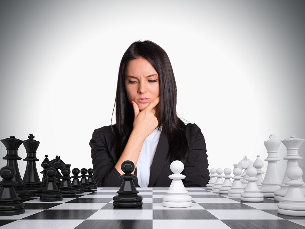Tactics Or Positional Play? The Ladies Teach Chess