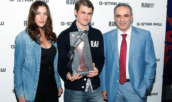 Magnus Carlsen And Anastasia