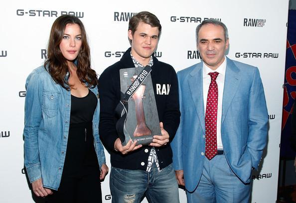 Magnus Carlsen And Anastasia