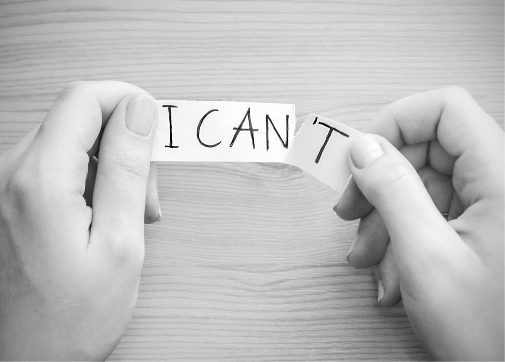 Deadly Mindsets: 'He Can't/I Can't'