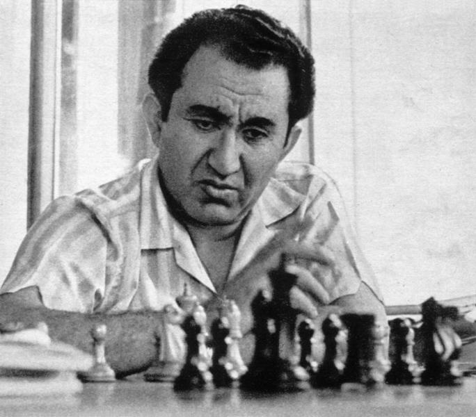Tigran Petrosian And The Queen's Indian