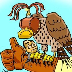 The Qatar Falcon