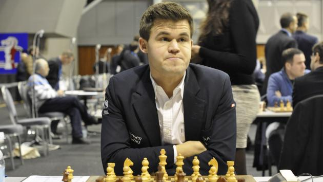 Magnus Carlsen And The Two Bishops
