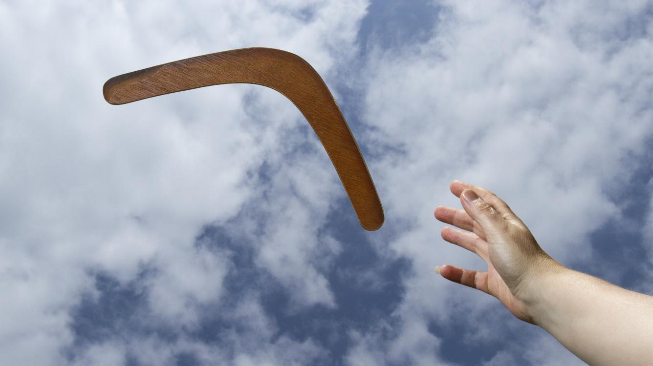 The Opening Boomerang