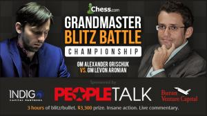 Aronian-Grischuk Blitz Battle Opener April 6: Once More We Play Our Dangerous Game's Thumbnail