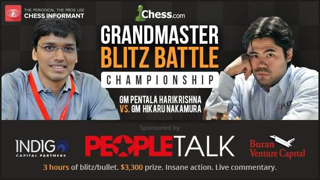 Nakamura vs Harikrishna: 1 Million Scovilles Of Chess On May 4