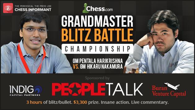 Nakamura vs Harikrishna: 1 Million Scovilles Of Chess On May 4