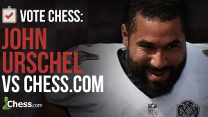 Play Chess With A Pro Football Player's Thumbnail