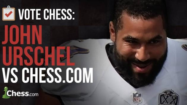 Play Chess With A Pro Football Player