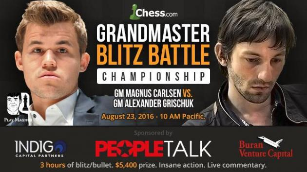 Carlsen vs Grischuk: Blitz Battle Facts vs Feelings