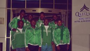 The Nigerian Team At The Baku Chess Olympiad's Thumbnail