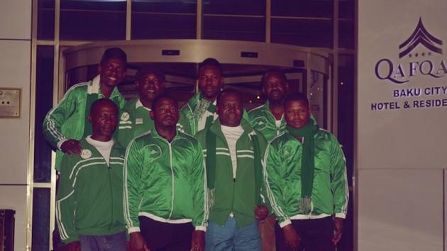 The Nigerian Team At The Baku Chess Olympiad