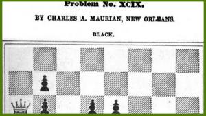 Charles de Maurian: Problemist's Thumbnail